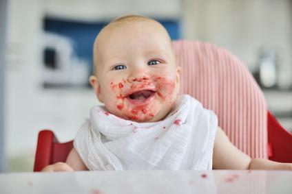 Baby Ernährung kann auch Spaß machen